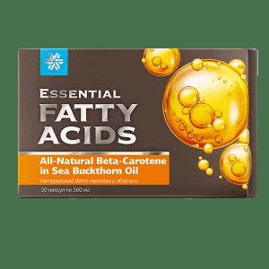 Натуральный бета-каротин и облепиха — Essential Fatty Acids