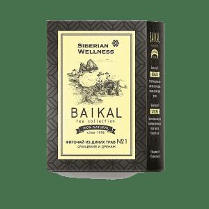 Фиточай из диких трав № 1 (Очищение и дренаж) — Baikal Tea Collection