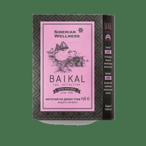Фиточай из диких трав № 6 (Защита печени) — Baikal Tea Collection