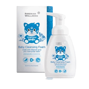 Детское мыло-пенка на ромашковой воде — Витамама BABY