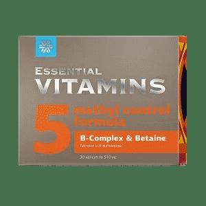 Бетаин и В-витамины — Essential Vitamins