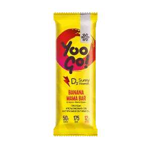 Батончик Banana Mama (вишня-банан) — Yoo Gо