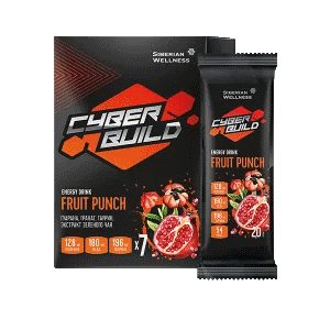 Энергетический напиток Energy Drink Fruit Punch — Cyber Build