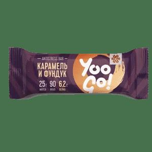 Antistress-батончик (карамель и фундук) — Yoo Gо
