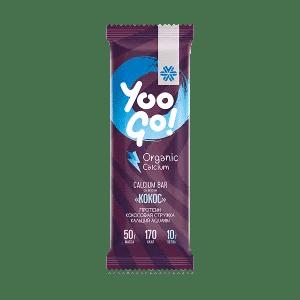Calcium-батончик Кокос — Yoo Gо
