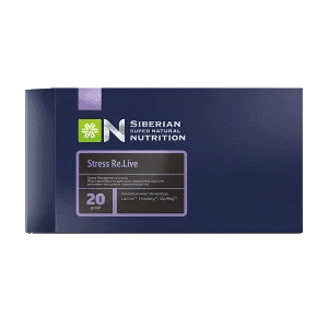 Stress Re.Live — Siberian Super Natural Nutritione