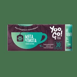 Чайный коктейль (мята и пихта) — Yoo Gо