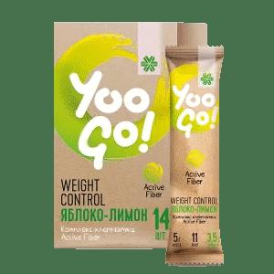Напиток Weight Control (яблоко-лимон) — Yoo Go