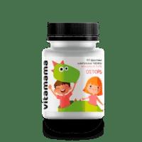 Фруктовые жевательные таблетки с витаминами A, C и D Ditops – Vitamama